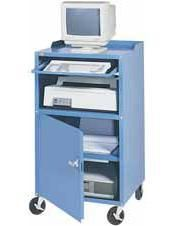 """Mobile Computer Cabinet - 27""""W x 24""""D x 49-1/4""""H"""