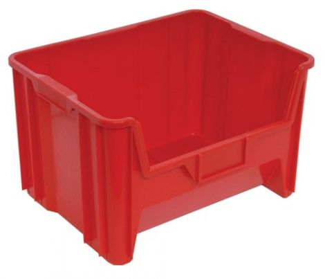 "Giant Stacking Containers - Outside Width: 19-7/8"" - Outside Depth: 15-1/4"" - Case/Qty: 6"