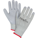 Natural Rubber Latex Palm Coated Fleece Lined Gloves - Size: X-Large (10) - Case Quantity: 120
