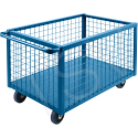 """Wire Mesh Box Truck - Volume Capacity: 30 cu. ft. - Overall Length: 75"""""""