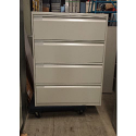 **4 Draw Lateral Filing Cabinet - Used - Colour: Beige - Excellent Condition**