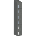 All-Welded Concord™ Heavy-Duty Lockers - Bank of 1 - Colour: Charcoal