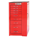 PRO+ Series Roller Cabinet - 8 Drawers
