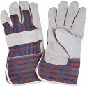 """Split Cowhide Fitters Gloves, Better Quality, 4"""" Cuff - Size: Large - Case Quantity: 72"""
