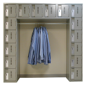 All-Welded Archettes Concorde™ Heavy Duty Lockers - No. of Tiers: 16 - Ships Free