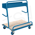 """Lumber Cart - Overall Height: 8"""" - Overall Width: 26"""""""
