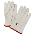 Grain Cowhide Ropers Gloves - Size: Small