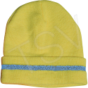 High Visibility Knitted Toques - Colour: High Visibility Lime-Yellow - Case/Qty: 12