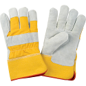 Split Cowhide Fitters Foam Fleece Lined Gloves - Size: 2X-Large - Case Quantity: 24
