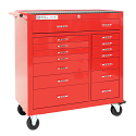 PRO+ Series Roller Cabinet - 15 Drawers