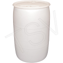 White Polyethylene Drums Drum Size: 30 US gal. (25 imp. Gal.) - Unlined / Closed Top