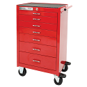 PRO+ Series Roller Cabinet - 7 Drawers