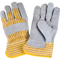 Split Cowhide Fitters Gloves, Superior Quality - Size: Large - Case Quantity: 72