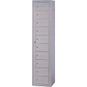 Personal Effects Lockers - No. of Compartments: 10 - Ships Free