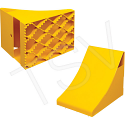 Ice Chocks - Material: Steel - Colour: Yellow