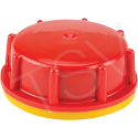 Security Cap For Rectangular Poly Tight Head Containers - Opening mm: 60