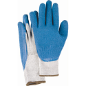 Natural Rubber Latex Coated Gloves - Size: X-Large (10) - Case Quantity: 120