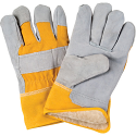 Split Cowhide Fitters Acrylic Boa-Lined Gloves- Size: 2X-Large - Case Quantity: 24