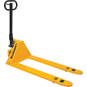 """Ultra Low Profile Hydraulic Pallet Trucks - Lowered Height: 1.75"""" - Raised Height: 6.5"""""""